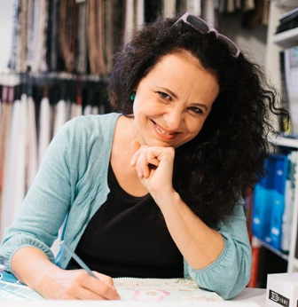 Romana Hozáková  - ateliér bytového textilu Rachevo