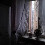 záclona s kanýrem