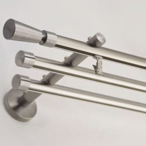Profilové tyče na záclony